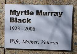 Pvt Myrtle Murray Rennie Black (1923-2006) - Find A Grave Memorial