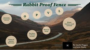 Rabbit Proof Fence Scene Analysis Year 8 English 2017 By Amelia Duggan