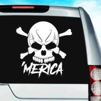 Usa America Patriotic Car Window Decals Stickers Graphics
