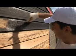How To Stain Weatherboards With Resene Woodsman Youtube