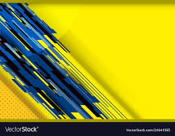 yellow background royalty free vector image