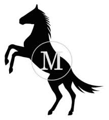 Personalized Monogram Horse Decal Sticker For Yeti Cup Ozark Ebay