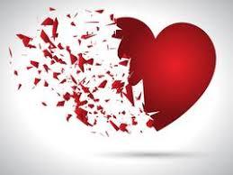 broken heart free vector art 20 343