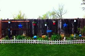Ideas Home Garden Architecture Furniture Interiors Design Spring Fence Decorating Ideas