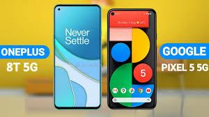 Oneplus 8T vs Google Pixel 5 - YouTube