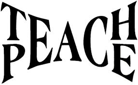 Amazon Com Wmdecal Teach Peace Quote Design Decal Sticker Wall Vinyl Art Words Decor Home Kitchen