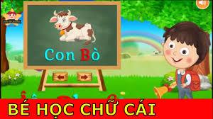Day Be Hoc Online - Dạy Bé Học Chữ Cái Tiếng Việt Vui Nhộn và Sinh Động -  YouTube