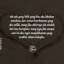 gloomy quote poem puisi lirih rindu instagram profile picomico