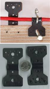 Locking Clip Shade Netting Fasteners For Cable Fencing Lashing Nailing The Natural Home