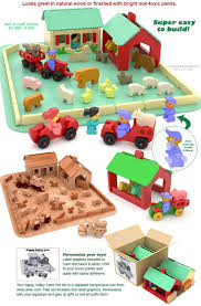wooden toy barn build plans of handmade