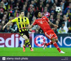 Il 2013 la finale di UEFA Champions League allo Stadio di Wembley tra FC Bayern  Monaco e Borussia Dortmund offre: Robert Lewand Foto stock - Alamy