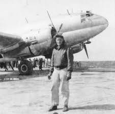 CNAC Capt. Felix Smith in front of C-46 – Gregory Crouch