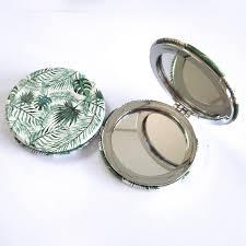 makeup mirror with epoxy resin deco