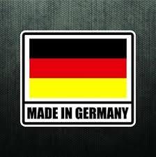 Made In Germany Vinyl Bumper Sticker Decal German Sport Car Decal For Bmw Benz Ebay