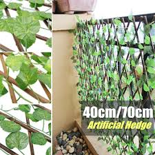 Artificial Hedge Leaf Fence Garden Patio Yard Screen Party Decoration Photo Props Home Restaurant Ornaments Green Expandable Party Diy Decorations Aliexpress