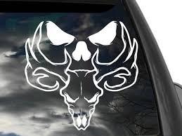 Crazy Bonez Skeleton Family Window Decals Car