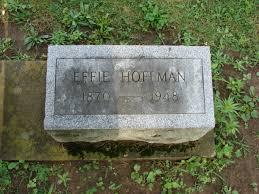 Effie Hoerner Hoffman (1870-1948) - Find A Grave Memorial