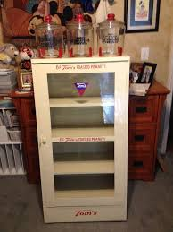 This Is Set Of Decals For The Restoration Of The Slant Cabinet Which Includes 1 Toms Decal For The Bottom 2 Bags Peanut Decal 2 Eat Cabinet Restoration Toms