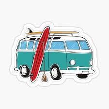 Minivan Stickers Redbubble