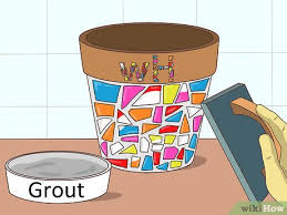 3 ways to decorate a flower pot wikihow