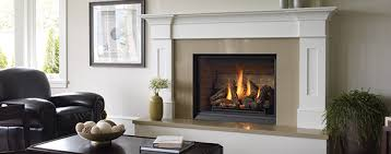 clean the glass on a gas fireplace