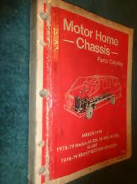 1978 1979 dodge motor home parts book