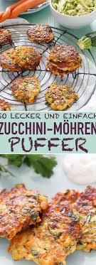 Zucchini-M hren-Puffer Das einfache Rezept mit frischen Zutaten aus der  Pfanne Die schnelle leckere Feierab… in 2020   Delicious vegetables,  Vegetarian recipes, Recipes