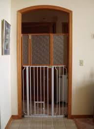 Carlson Pet Products Extra Tall Walk Thru Gate With Pet Door Extra Tall Diy Dog Gate Dog Gate Cat Gate