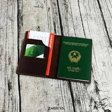 Ví đựng passport độc đáo