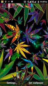 mariguana weed live wallpaper for