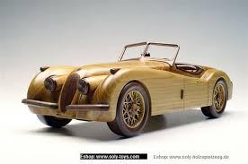 jaguar xk 150 wooden modell wooden