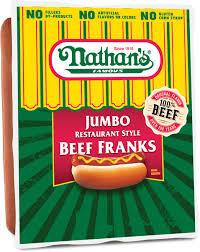 jumbo restaurant style beef franks