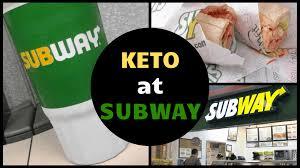 ketogenic subway guide low carb subway