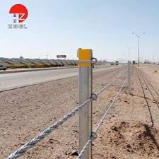 Modern Design High Tension Cable Barrier Cable Rope High Quality Guard Rail China Galvanized Fence