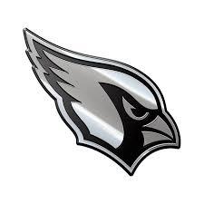 Nfl Arizona Cardinals Metal Emblem Menf02 Walmart Com Walmart Com