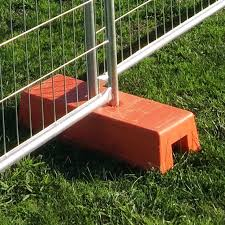Temp Fence Foot Concrete Filled Foot For Sale Temp Fence Super Store