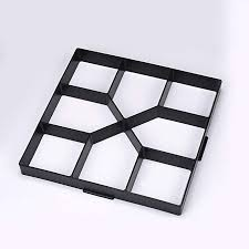 Sanfurney 2 Pack Walk Maker,Pathmate Stone Mold Paving Pavement Concrete  Mould Stepping Stone Paver for DIY Lawn Patio Yard Garden Walk Way (Plus  Size:15.7 x 15.7 x 1.6inch): Amazon.in: Garden & Outdoors
