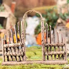 Woodland Twig Fairy Garden Fence Fairy Garden Supplies Craft Supplies Factory Direct Craft