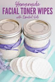 diy toner pads with essential oils