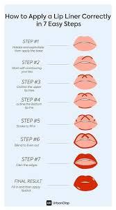 a liner lip makeup musthaves sie