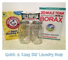 quick and easy diy laundry soap the