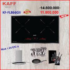 Bếp từ đôi KAFF KF-FL866GII Made in Malaysia - BH 5 Năm