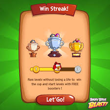 🔔We have a new event: WIN STREAK!🔔 ➡️... - Angry Birds Blast ...