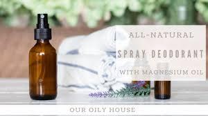 how to make spray deodorant baking