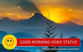 good morning video status es