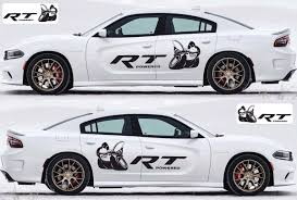 2x Dodge Charger Rt Scat Pack Decals Stripe Vinyl Graphics Kit 2011 2020 Scatpack