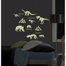Wallpops Mystyle Glow In The Dark Dinosaurs Wall Decal Reviews Wayfair