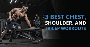 the 3 best chest shoulder tricep