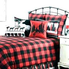 white gingham sheets black checd