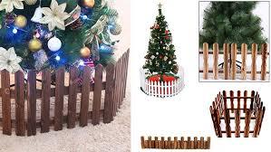 Christmas Tree Wooden Fence Gosawa Beirut Deal